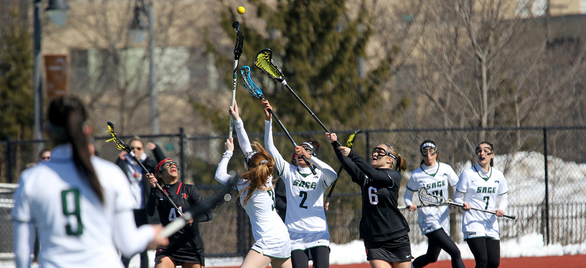 Medaille wins in women's lacrosse game at Sage