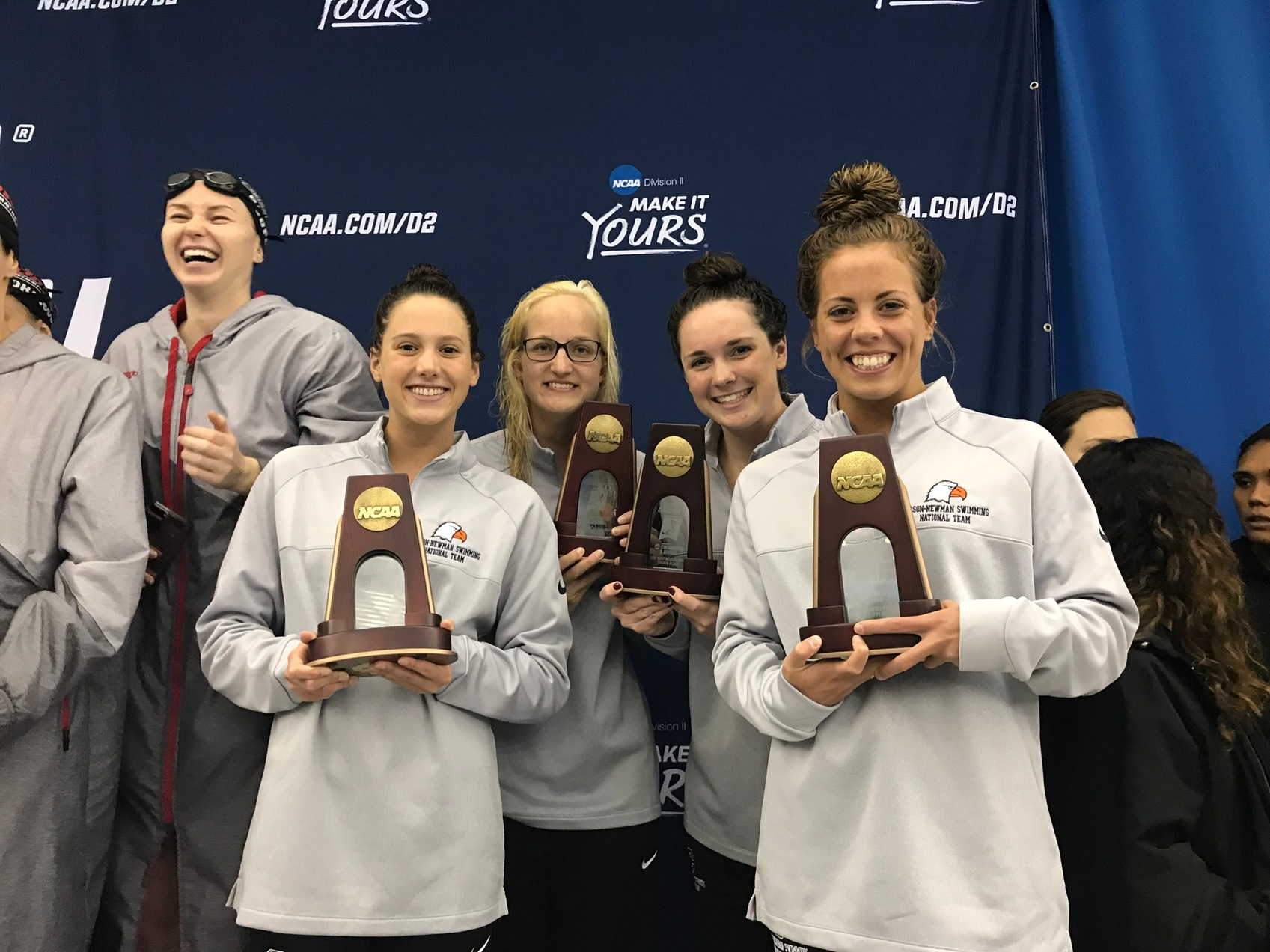 Taylor's troops open NCAA Championships in style