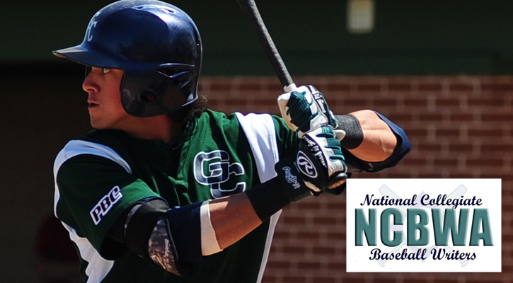 Sandlin Named NCBWA Region Player of the Week