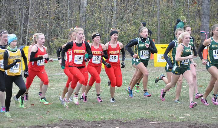 Bulldog Men Fifth, Women Seventh At GLIAC Championships; Johnson Wins Individual Crown
