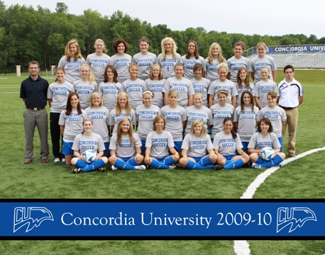 Marian booters end Concordia season  2-1