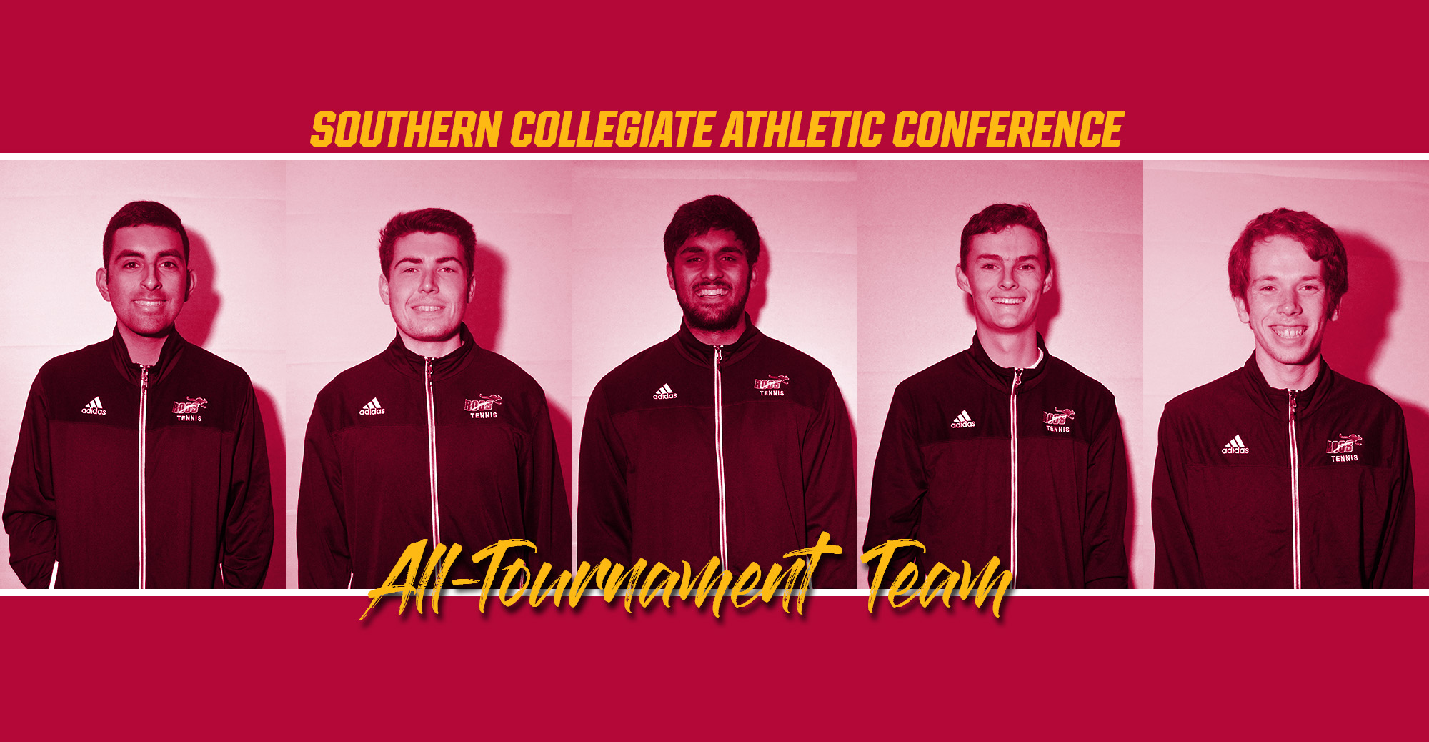 2018 SCAC Men's All-Tournament Team Includes 5 Kangaroos