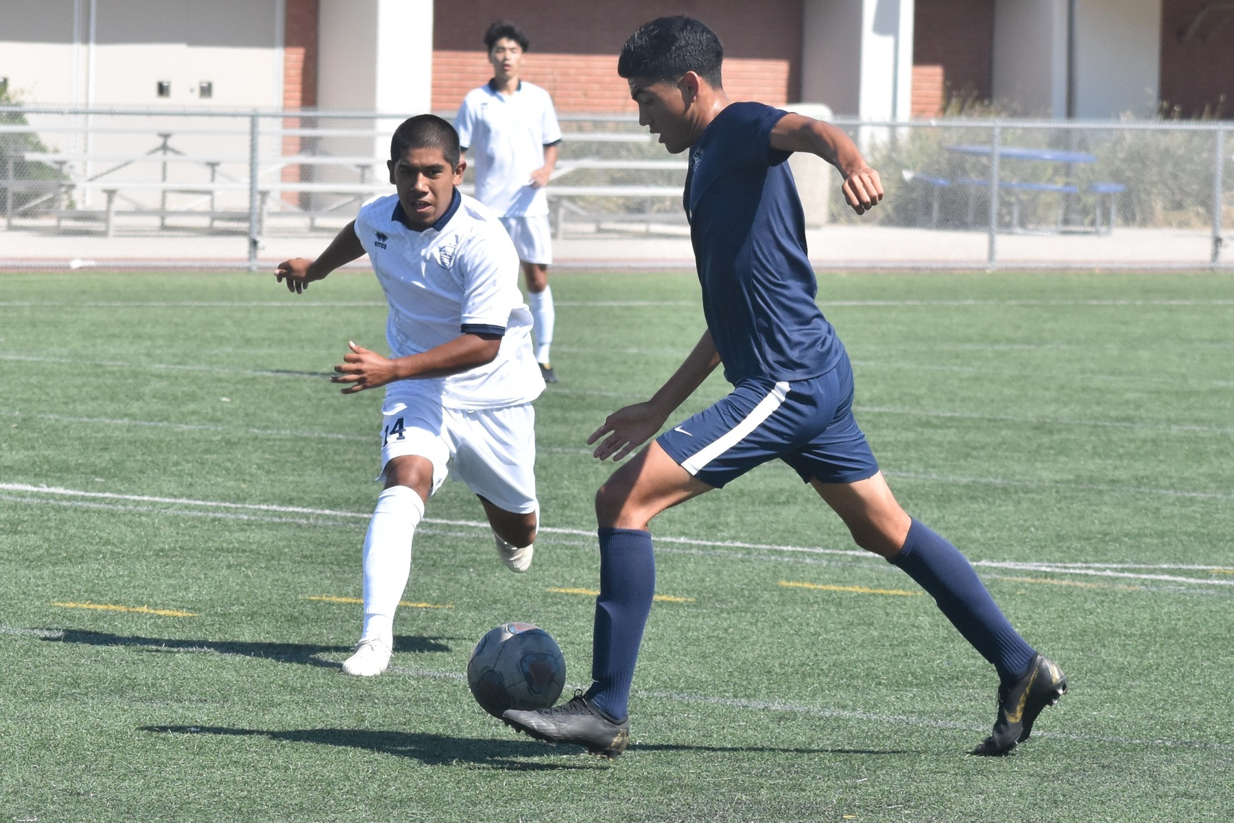 Mens Soccer Stays Unbeaten After Win over Irvine Valley