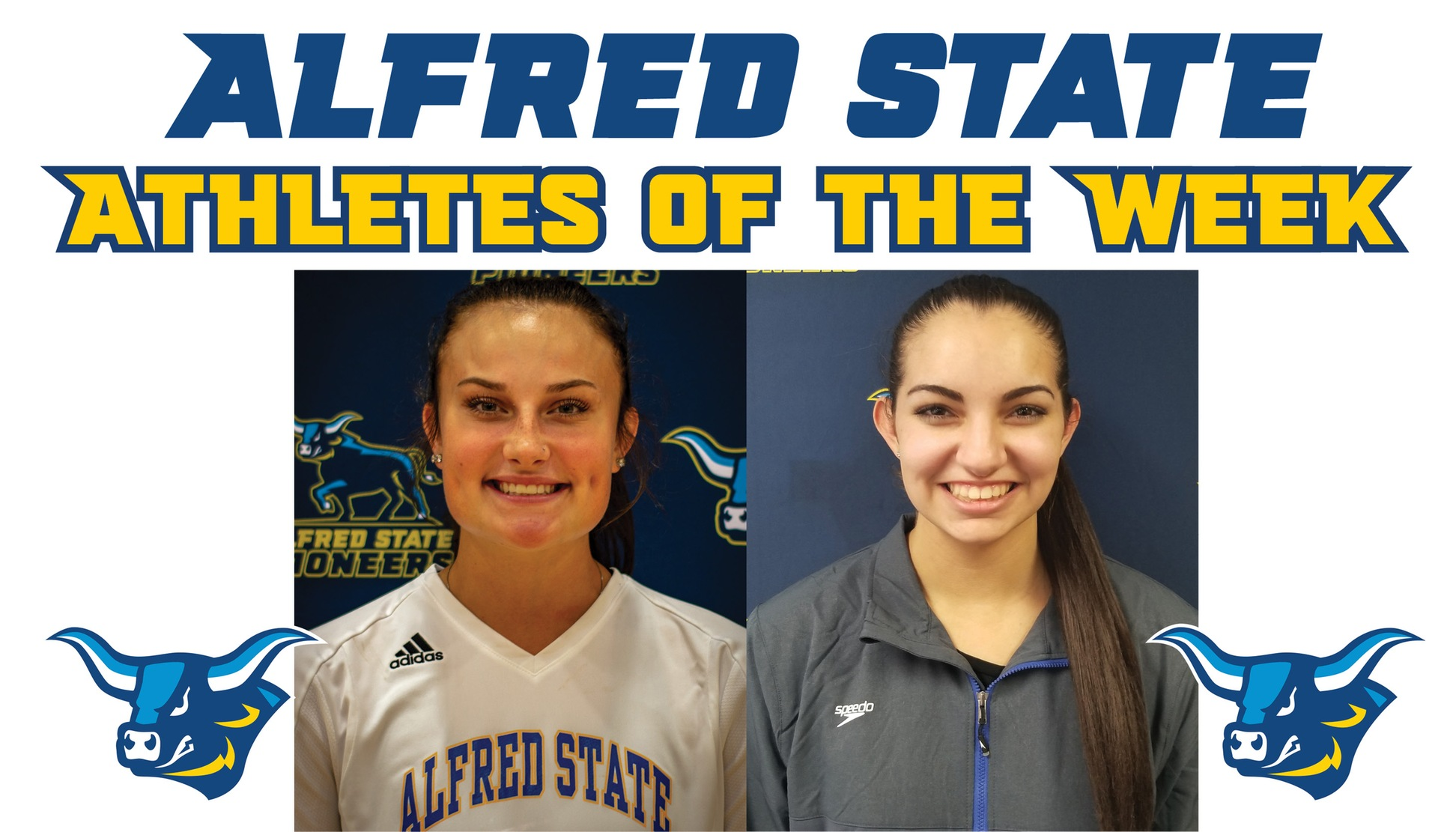 Maggie Meyer and Jessie LaRue named Athletes of the Week