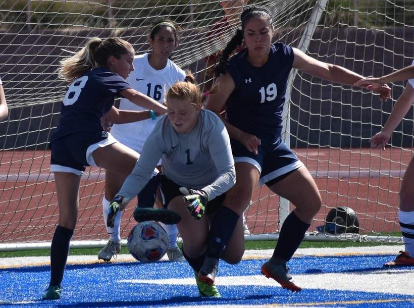 Simones Nets Her First but Warriors Fall on Late Goal to Fullerton