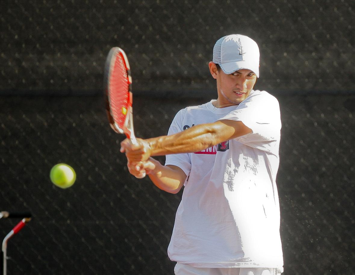 No. 50 Santa Clara Men's Tennis Begins Spring Season This Weekend