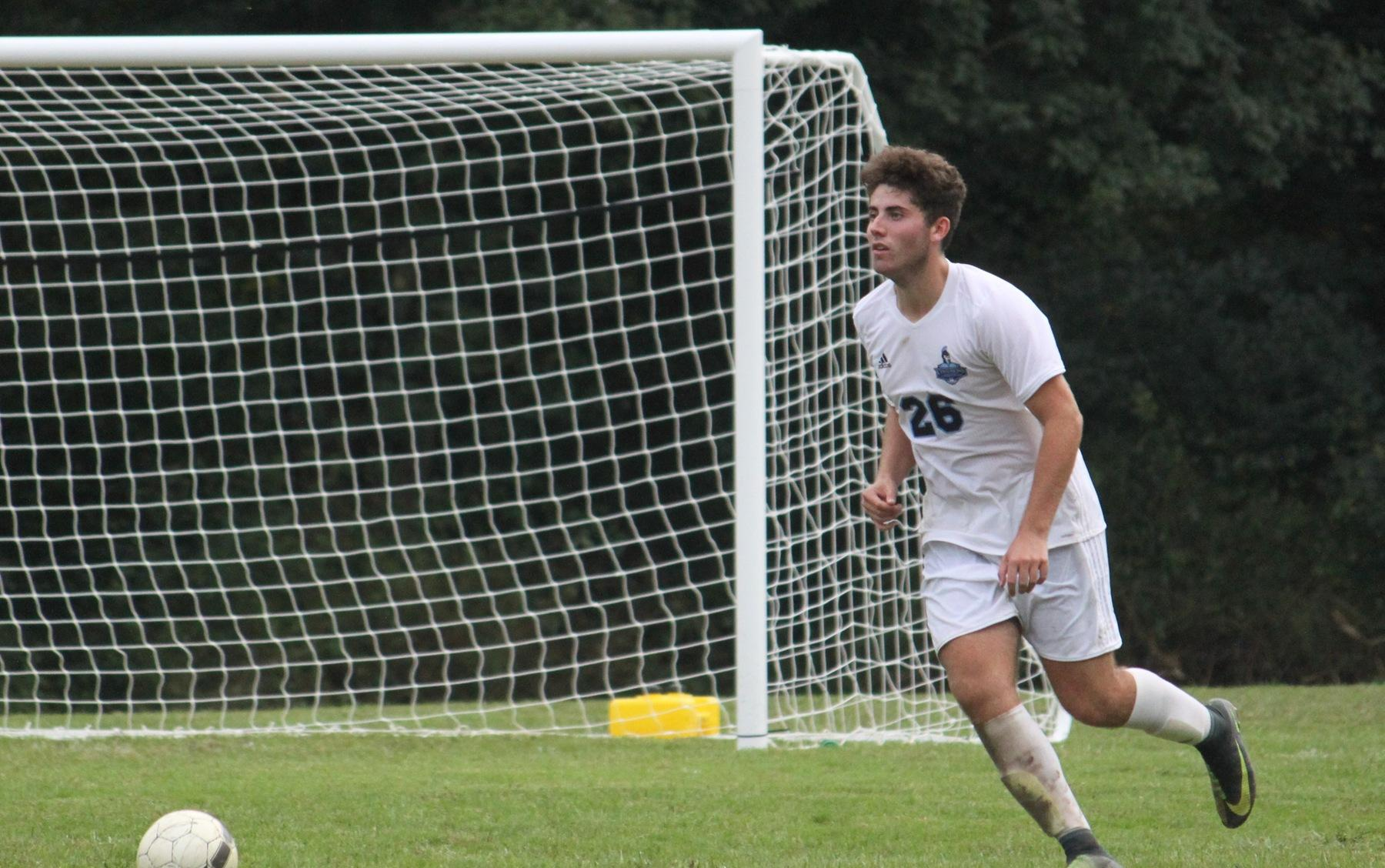 Men's Soccer Falls to 5th Ranked Camden