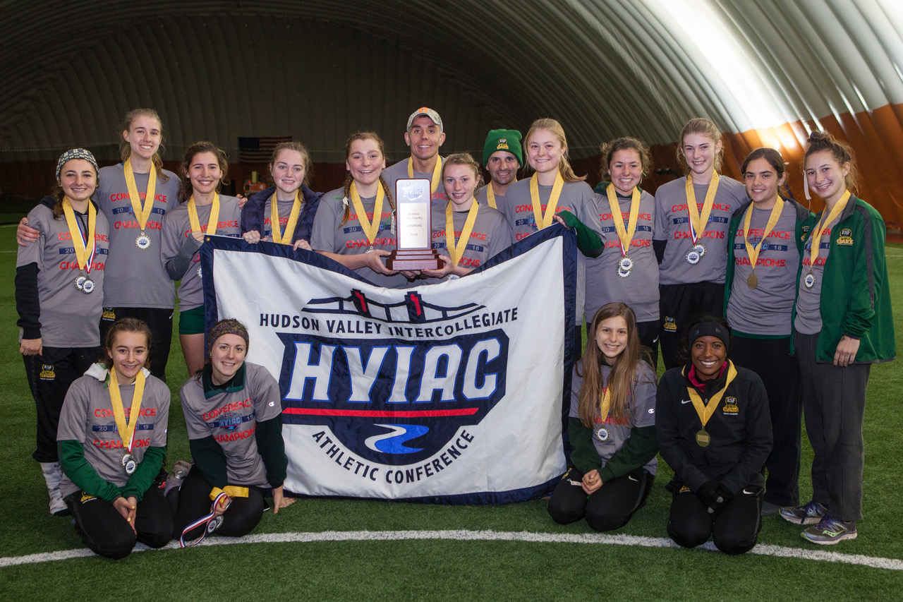 SUNY ESF Repeats as Women's Cross Country Champions; Third Title in Four Years