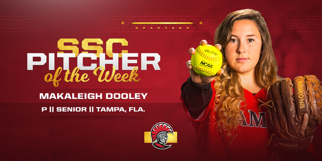 Dooley Honored by SSC in Consecutive Weeks
