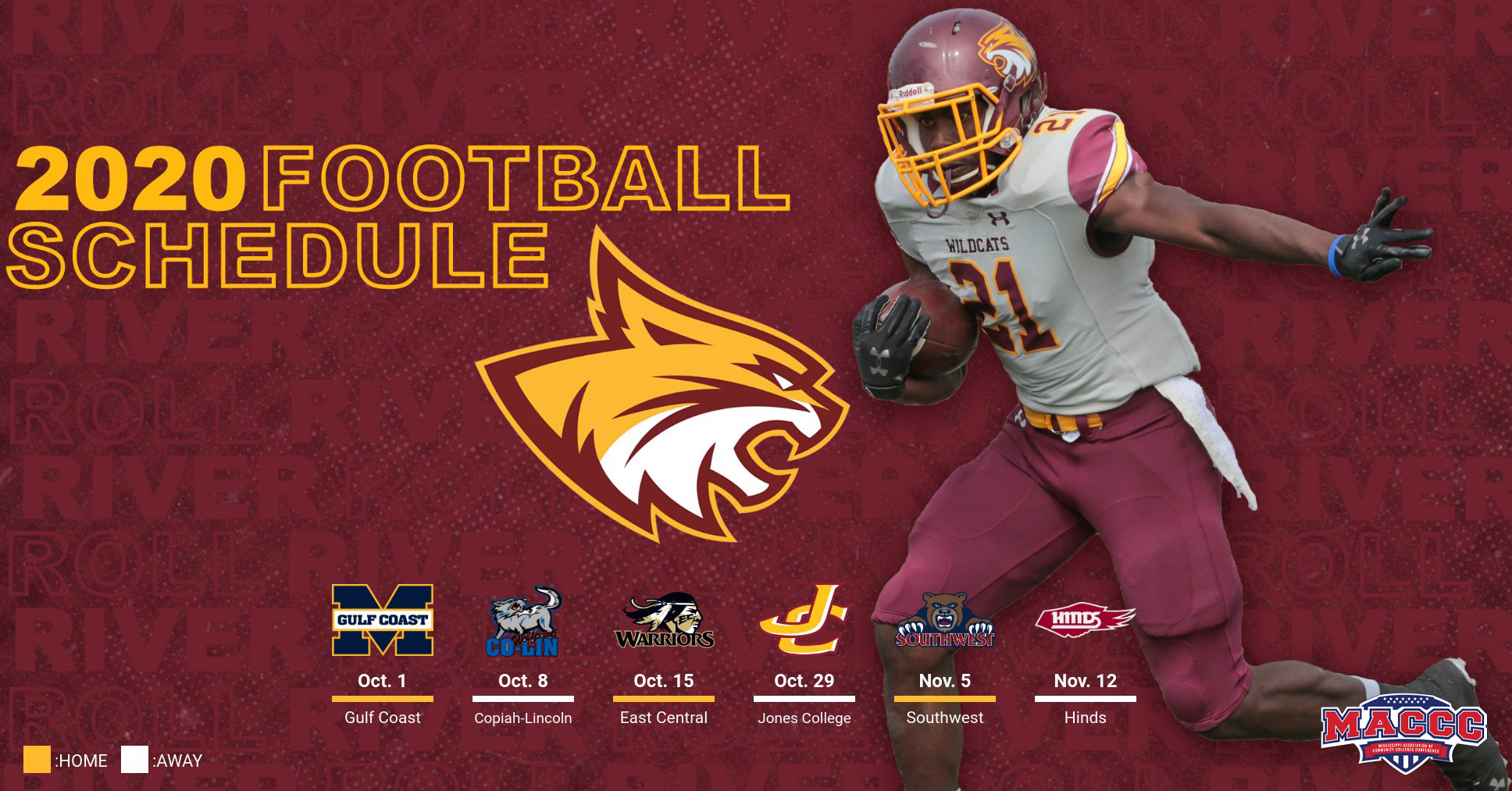 Pearl River releases 2020 football schedule