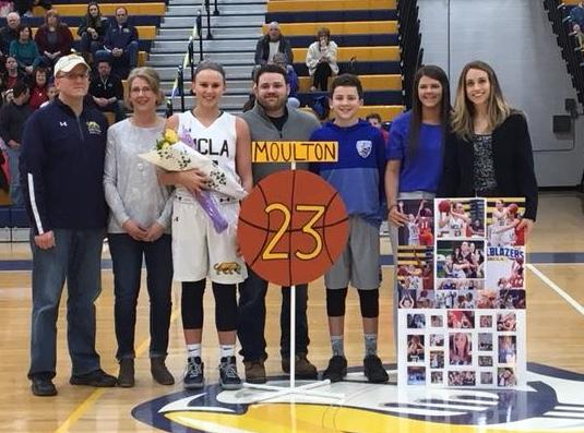 Women's Basketball celebrates Senior Day, but falls to Framingham State in season finale 62-52