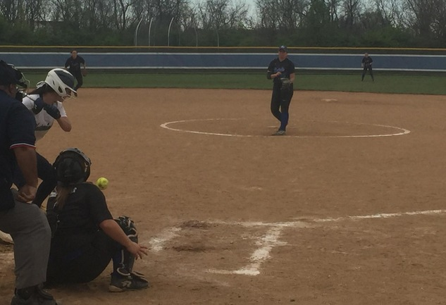 Softball Split Double Header Against Westminster