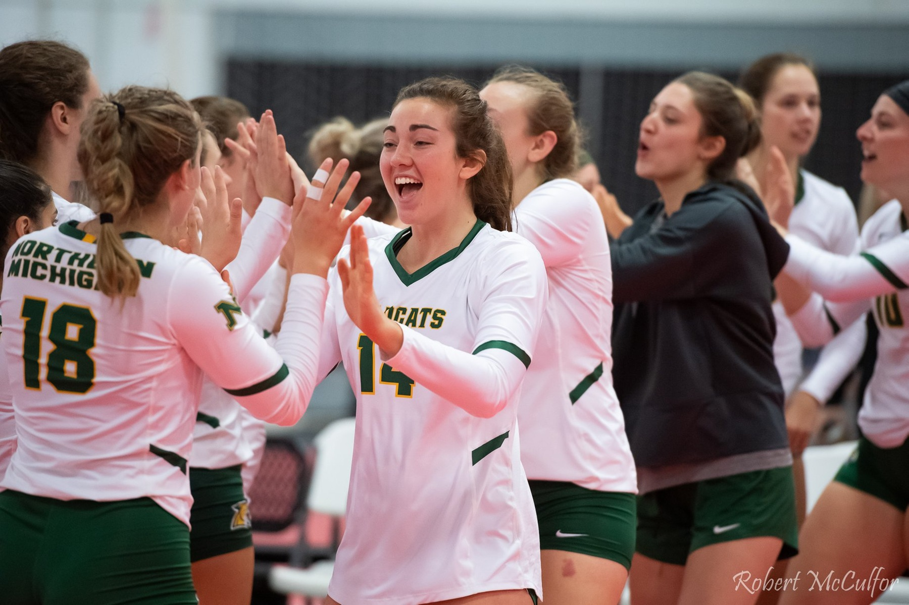 NMU Volleyball Returns to Vandament Arena Saturday to Take on Tech
