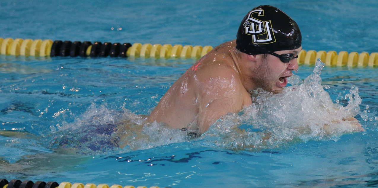 SCAC Men's Swimming & Diving Recap - Week Two