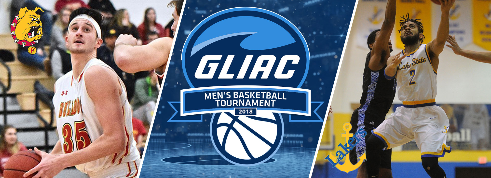 Ferris State, Lake State Set for 2018 #GLIACMBB Tournament Title Tilt
