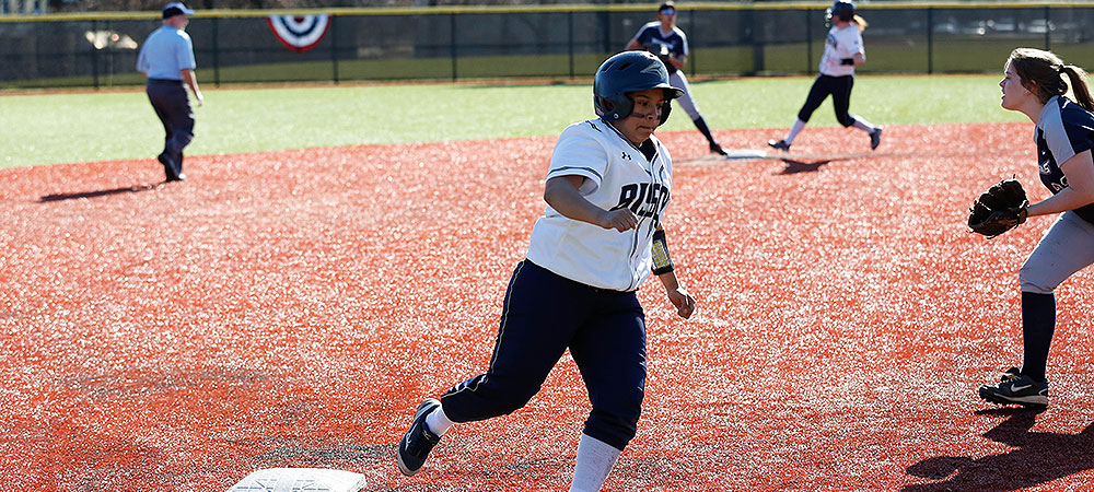 Bison sweep Patriots on Opening Day