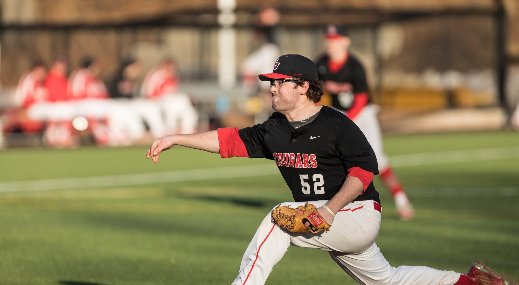 Baseball Rallies to Two Victories Over Golden Eagles
