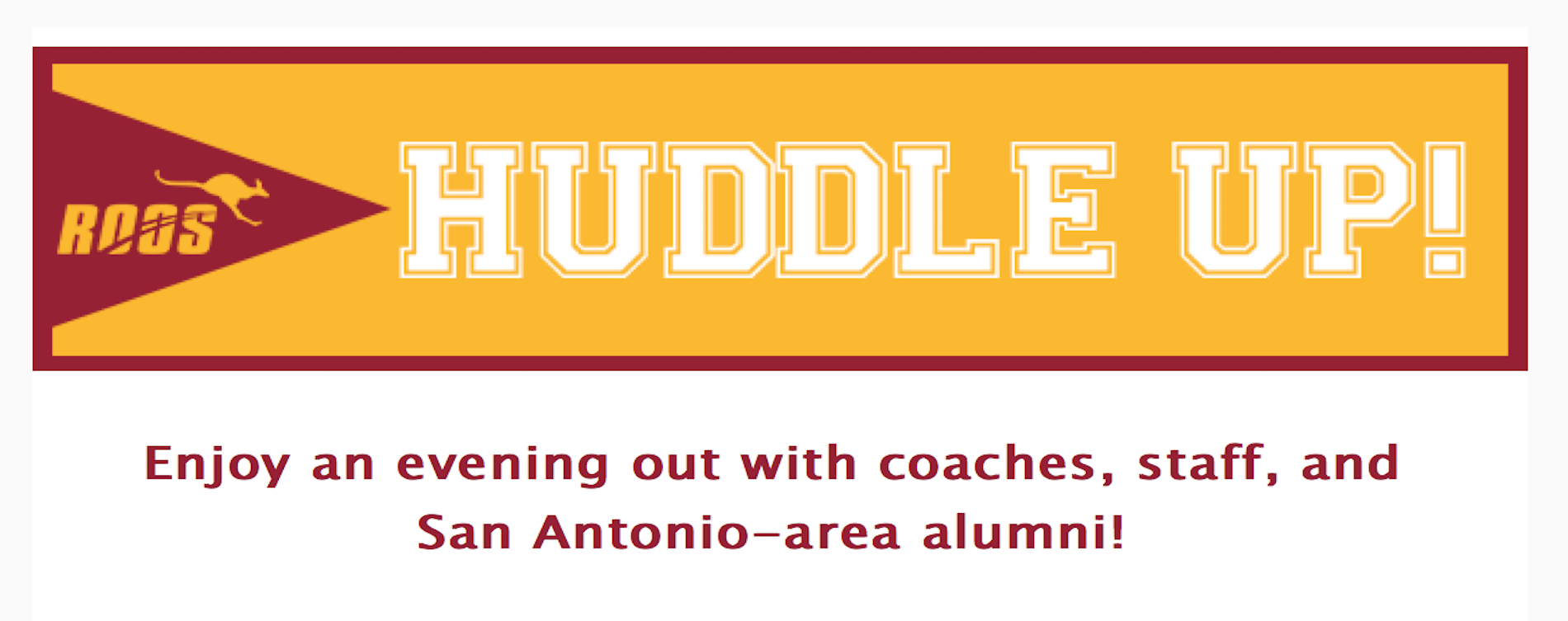 Huddle Up with the Coaches in San Antonio!