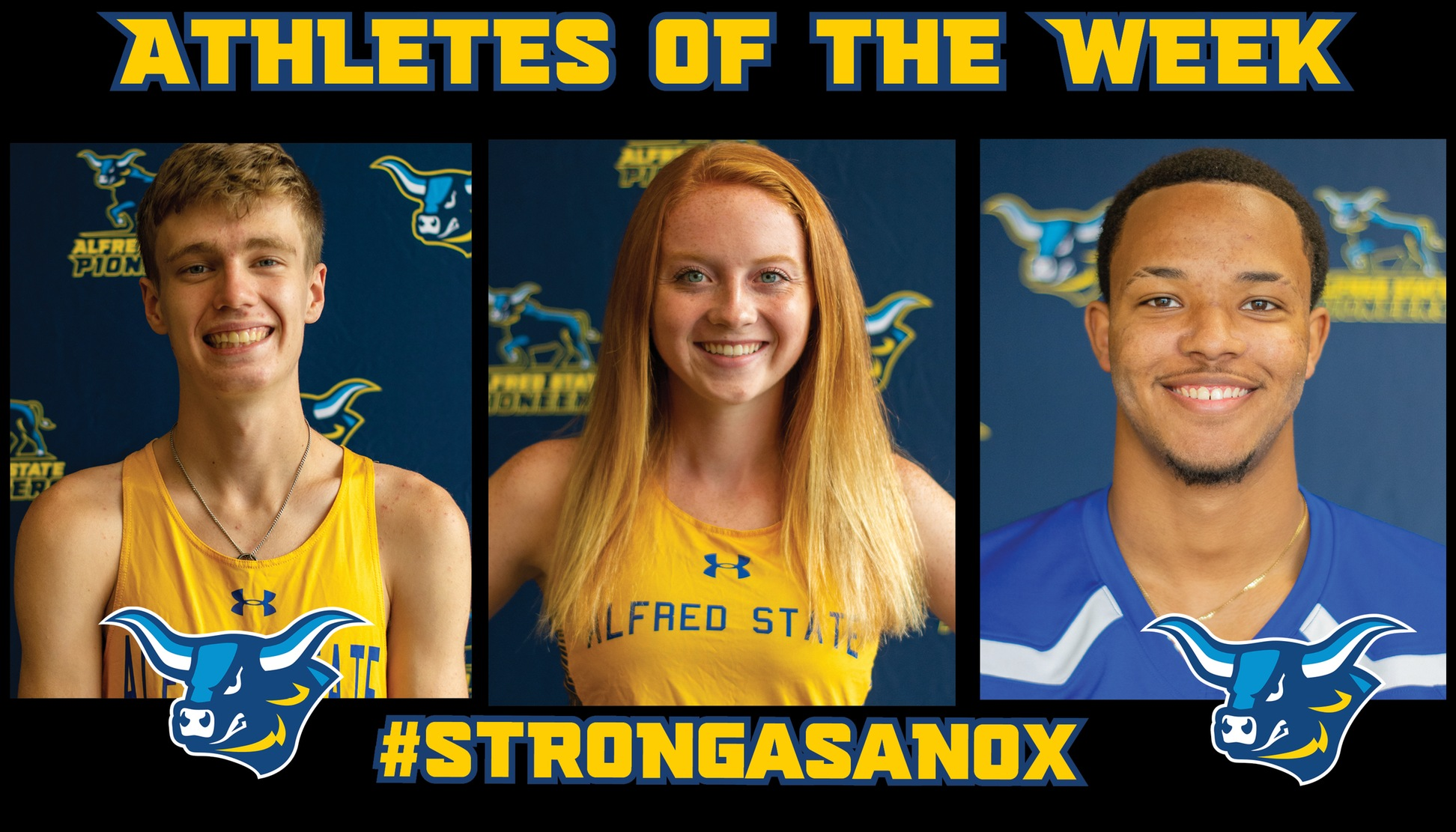 Athletes of the Week for November 4th - Gavin Bathgate, Caitlyn Caltagirone, and Dashown Wilson
