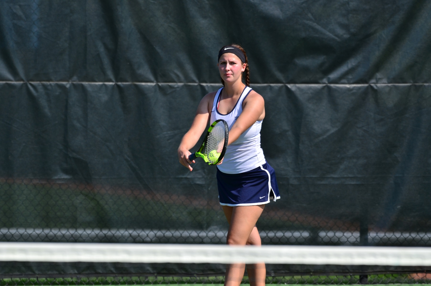 D'Youville Nips Women's Tennis in Home Opener