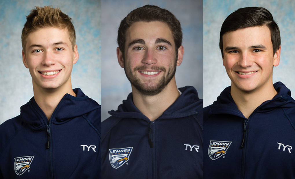 Men's Diving Trio to Compete at NCAA Regionals at Grinnell