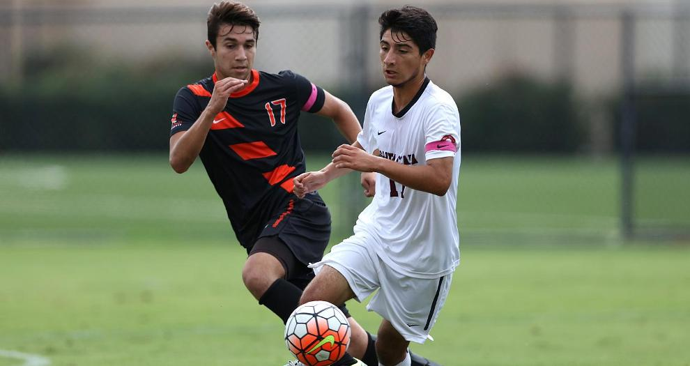 Cardona, Jimenez Score For Men's Soccer, Fall 3-2 to SDSU