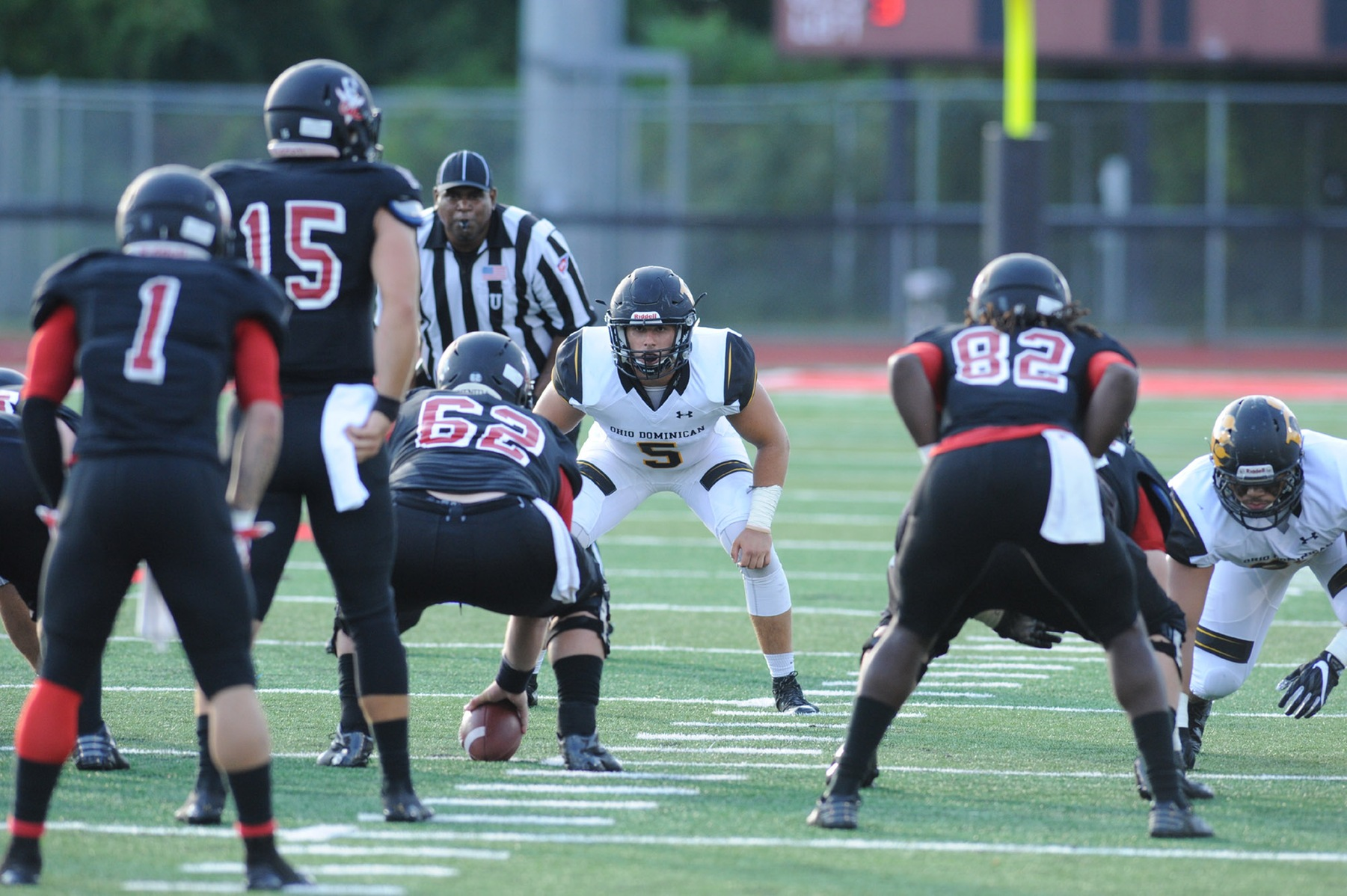 Football Suffers Setback At Ashland, 47-21