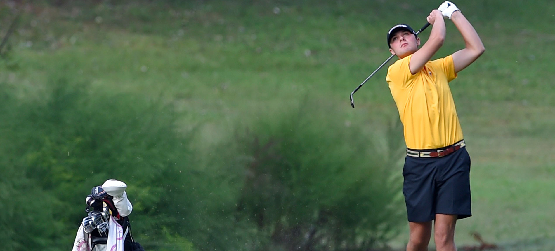 Men's Golf in Eighth Place after Day One of Hargett Memorial