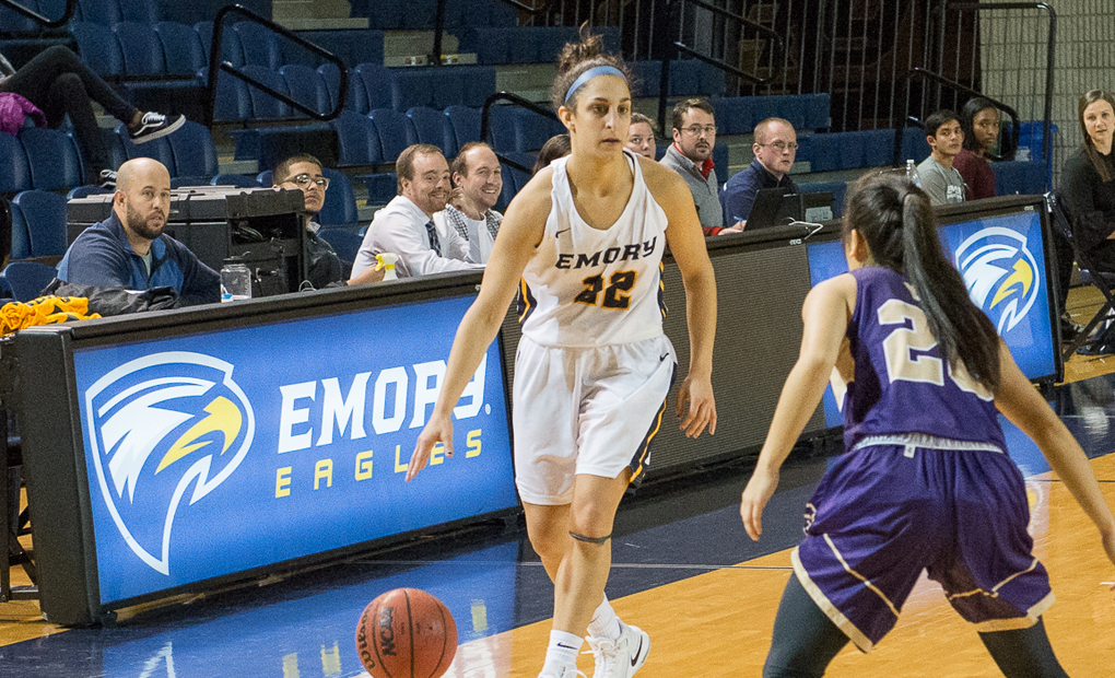 Emory Women's Basketball Takes To The Road For UAA Games vs. Wash U & Chicago
