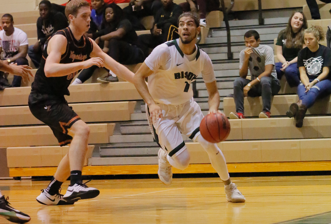 Bison knocked off at Geneva, 81-77