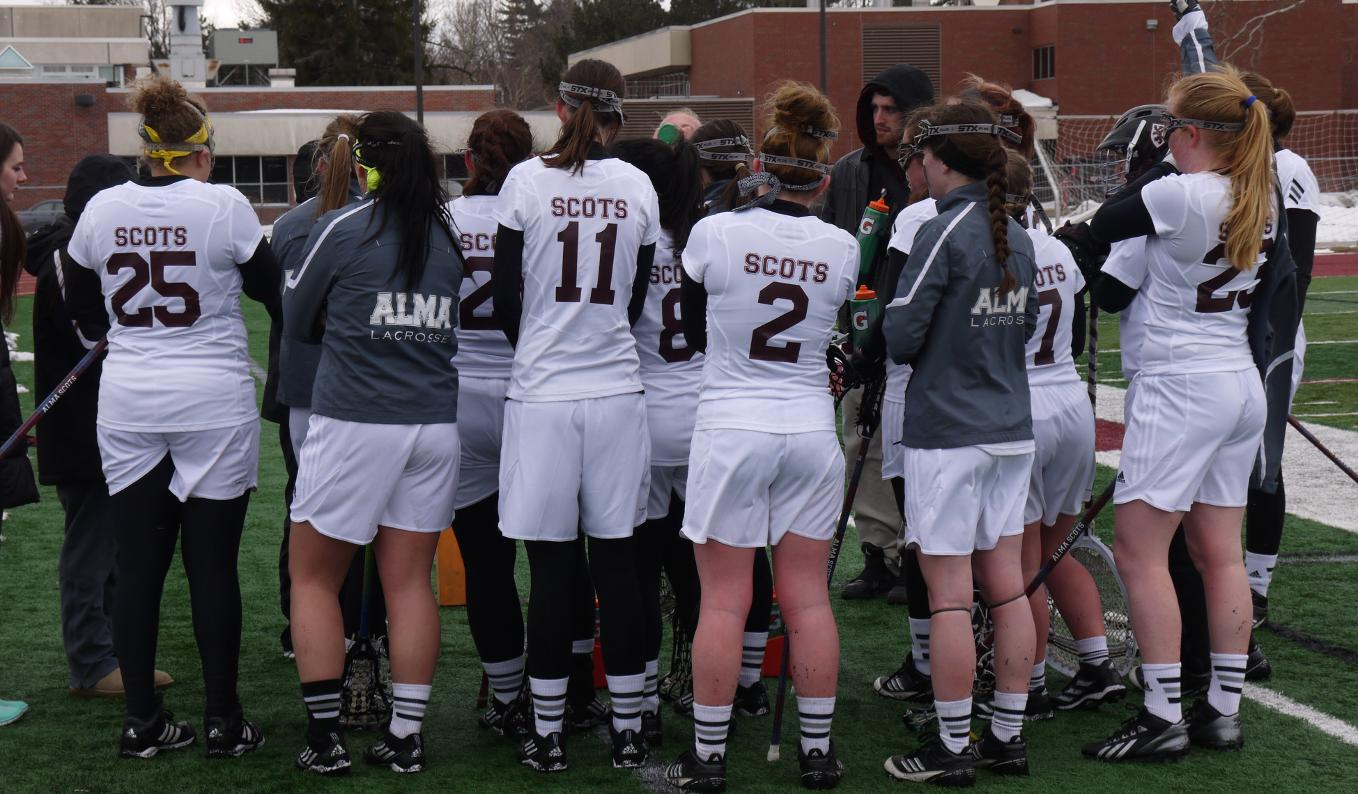 Women's Lacrosse defeated Trine 22-9 on Tuesday afternoon
