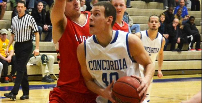 Men's Basketball defeats Crusaders, clinches No. 4 seed in NAC Tournament