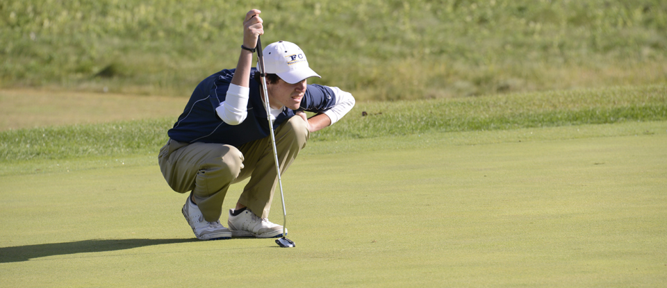 Men's Golf Finishes Eighth at Huntingdon Invitational