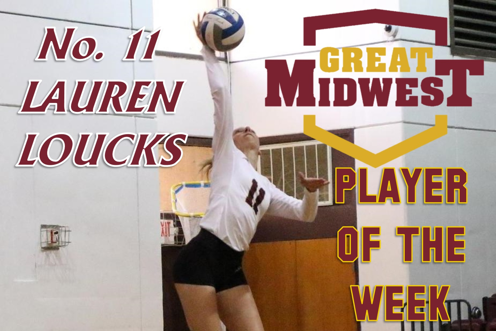 Loucks Earns Player of the Week Honors For Second Time