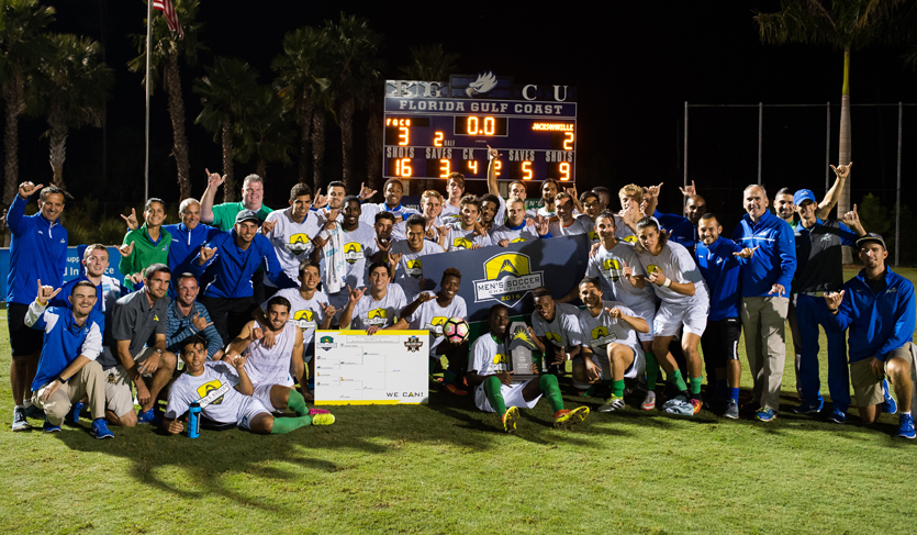 Eagles Return to NCAA Tourney After Thrilling #ASUNMSOC Championship Victory