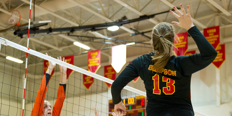 Volleyball sweeps Hunter, Brockport State to open season