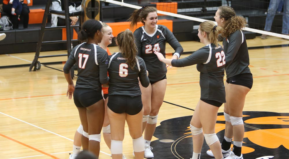 Women's volleyball clinches outright SLIAC league title