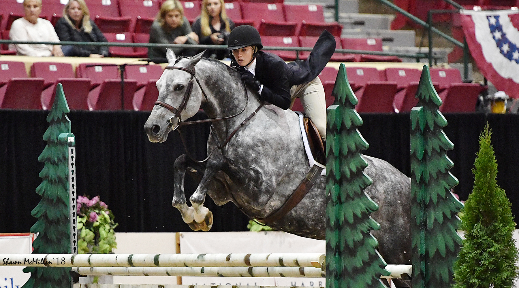 Equestrian Alums Postel '13, Hundley '18 Make Marks in Equine Community