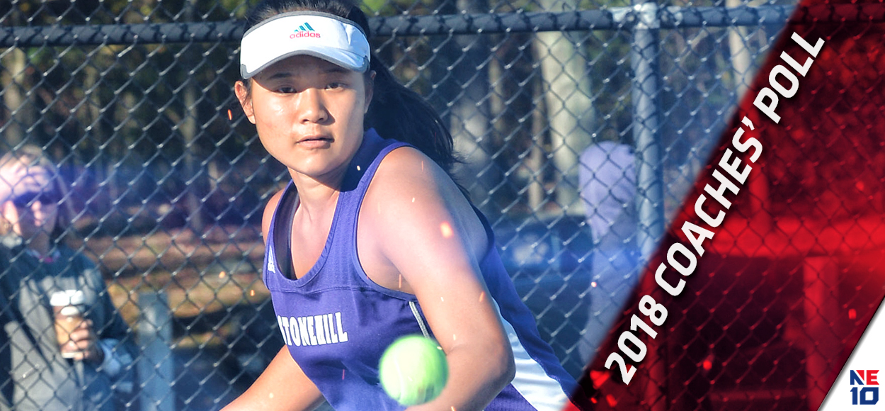 Stonehill Picked on Top in NE10 Women's Tennis Coaches' Poll