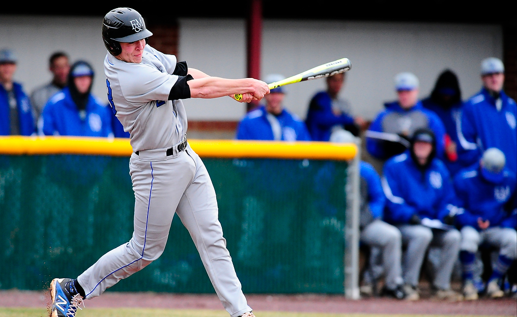 Diplomats Battle Babson; Vincent Tallies Two Home Runs