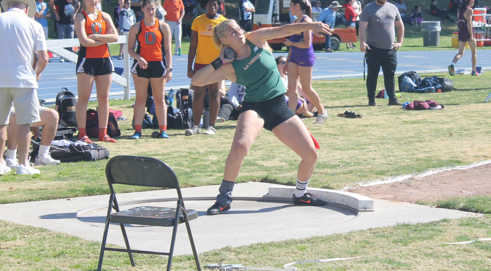 Leopards compete at Oxy