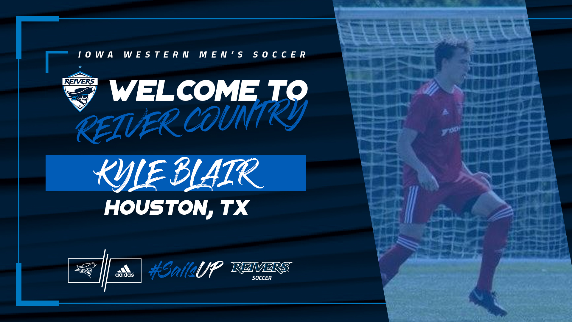Kyle Blair to join Reiver men's soccer in fall