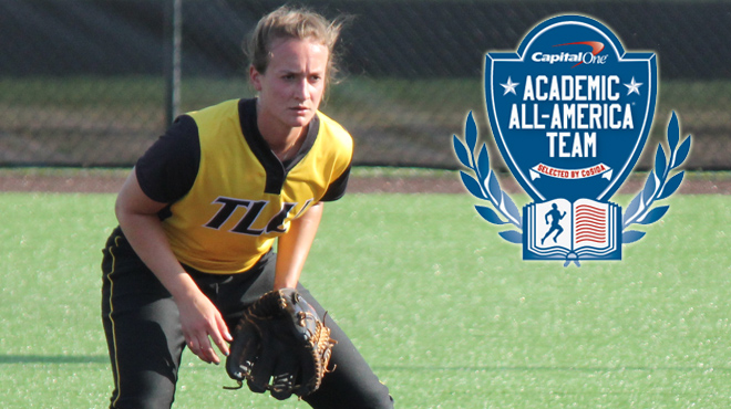 TLU's Jacobsen Earns Spot on Capital One Academic All-District Team