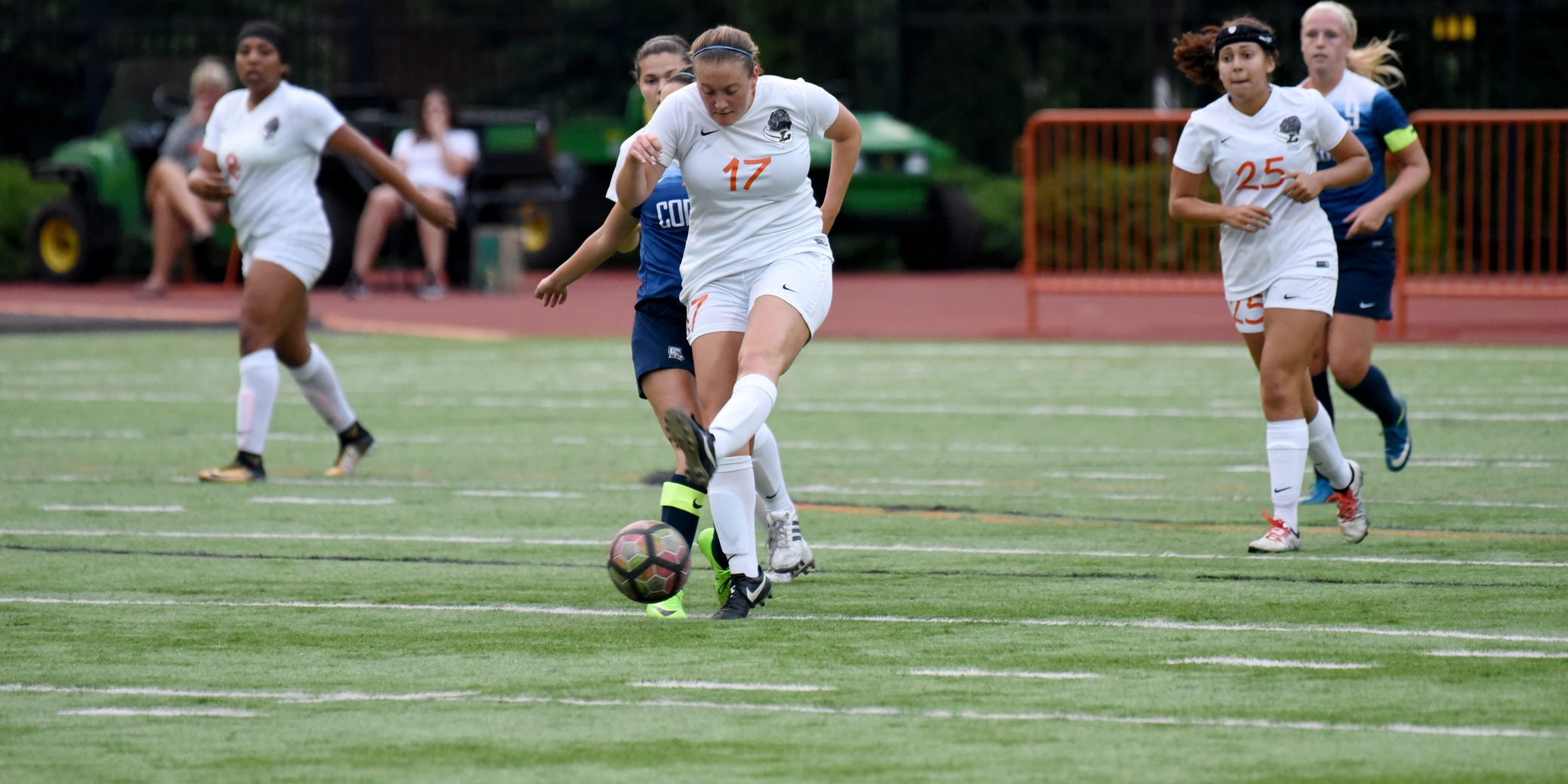 Hennes scores her first goal of the year in defeat