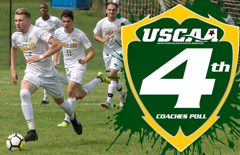 Men's Soccer Premieres Fourth in First USCAA Poll