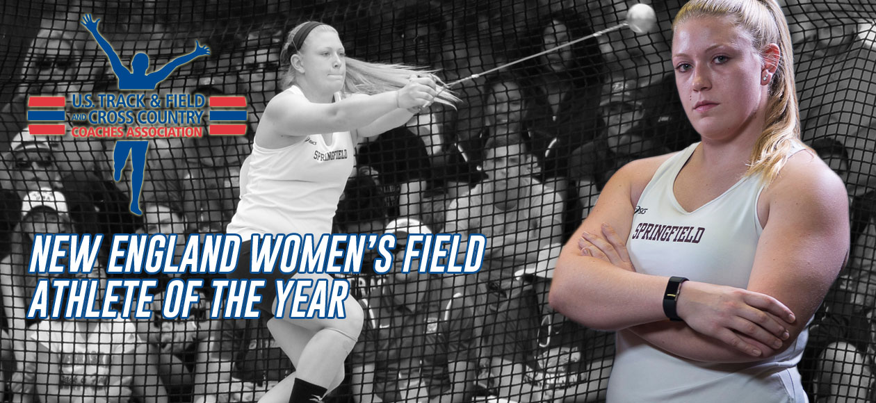 Markos Tabbed USTFCCCA New England Women's Field Athlete of the Year