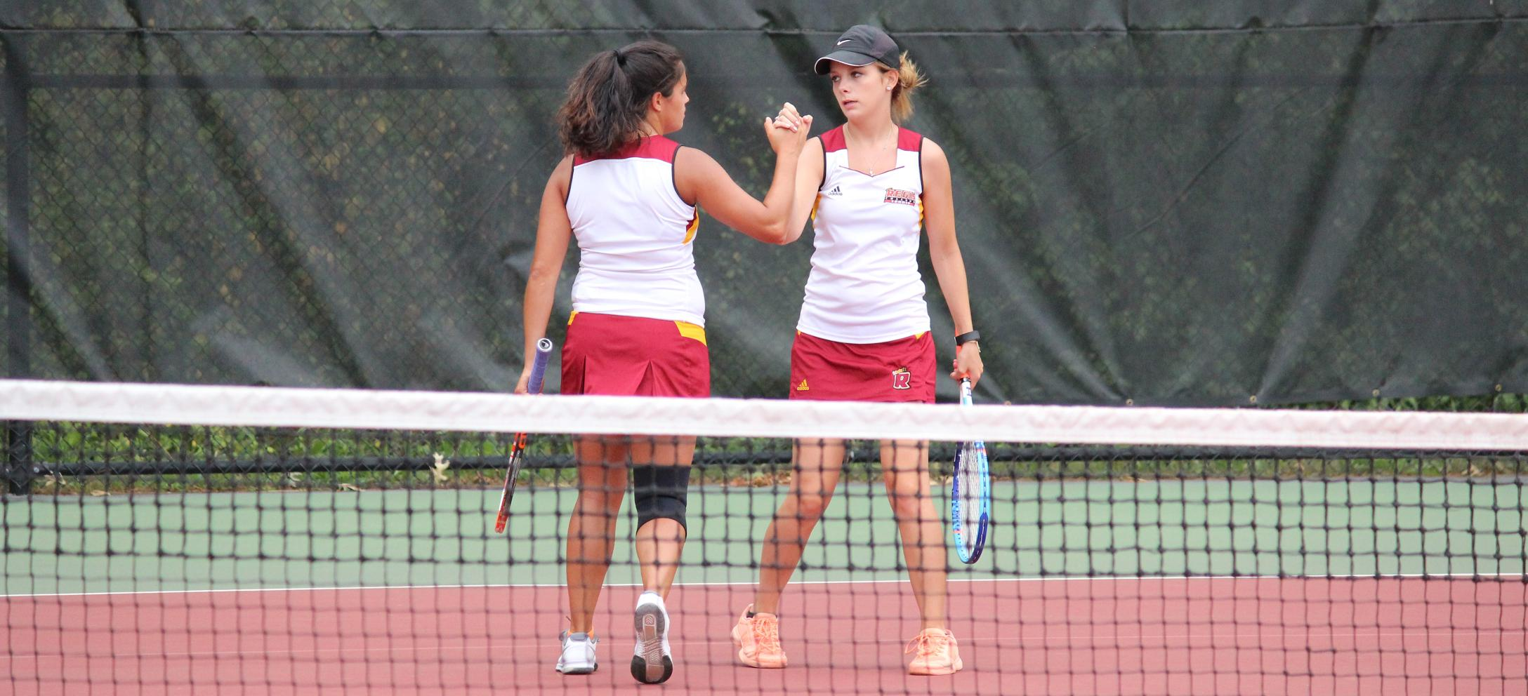 Women's Tennis Closes Out NECC Play with Win