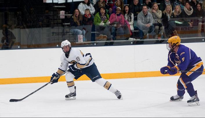 Men's Hockey Falls to Rival Stout