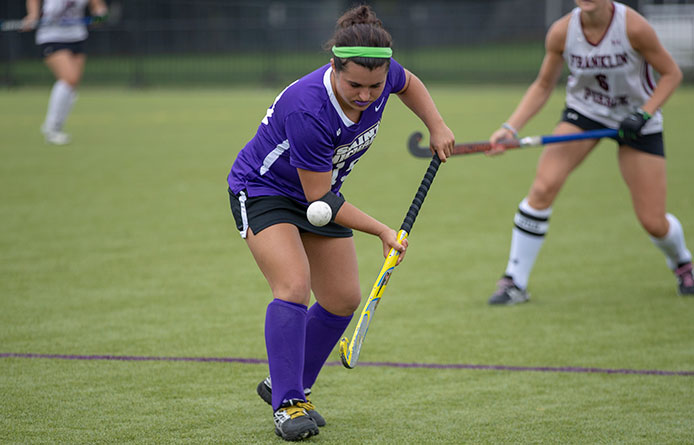 Field Hockey Falls at Saint Anselm, 3-1, Criscione Nets First Career Goal