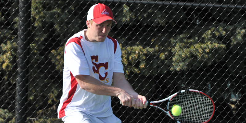 Men's tennis splits in Nebraska